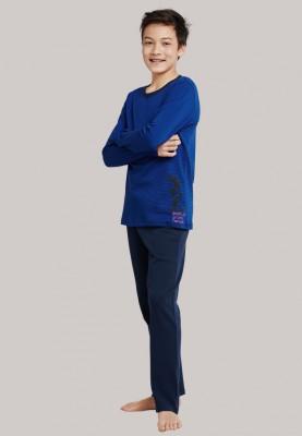 Jongens pyjama donkerblauw...