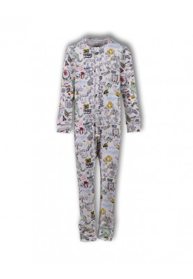 Dames onesie wit  WOODY 25...