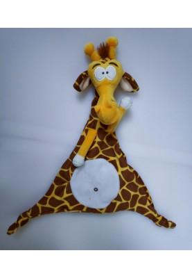 Knuffeldoekje  23cm Giraf...