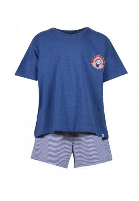 Meisje pyjama blauw...