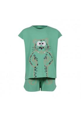 Dames pyjama jadegroen...