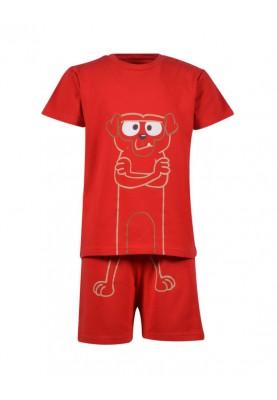 Heren pyjama felrood...