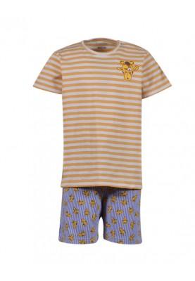 Unisex pyjama geelwit...
