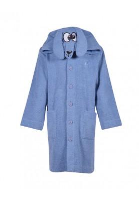 Unisex badjas lichtblauw...