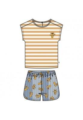 Meisjes pyjama geelwit...