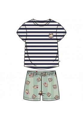 Baby pyjama blauwwit...