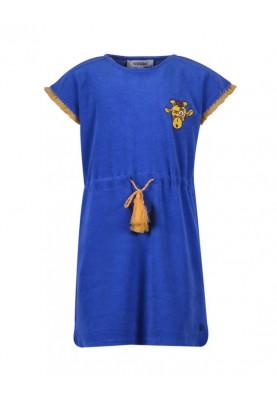 Meisjes jurk koningsblauw...
