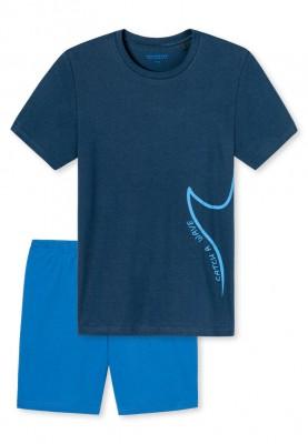 Jongens pyjama dark blue...