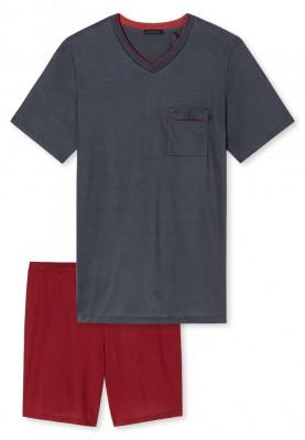 Heren pyjama graphite   k...