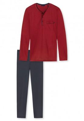 Heren pyjama deep red...