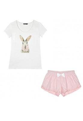 Meisjes pyjama short rabbit...