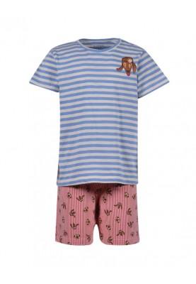 Heren pyjama lichtblauwwit...