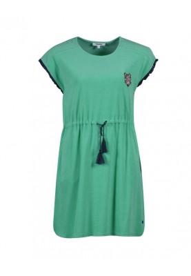 Dames jurk spons jadegroen...
