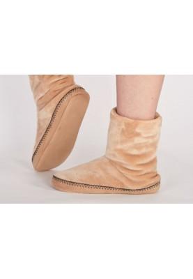 Pantoffels camelbruin...