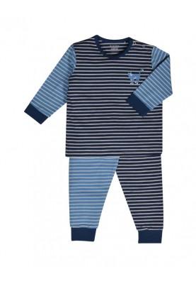 Jongens pyjama blauwgebr...