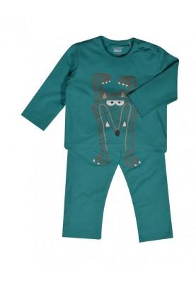 Jongens pyjama aquagroen...
