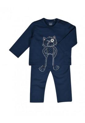 Jongens pyjama petrolblauw...