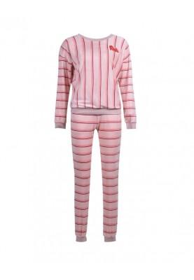 Dames sweater en broek roze...