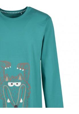 Heren pyjama aquagroen...
