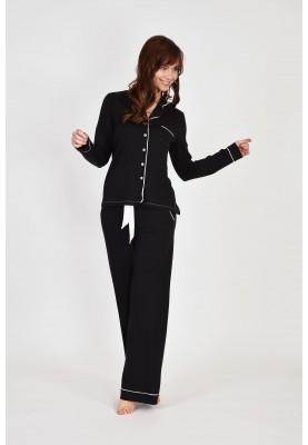 Dames pyjama zwart 9995LPNZ199