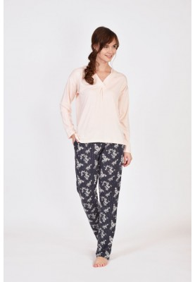 Dames pyjama zachtroze...