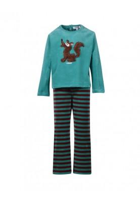 Meisjes pyjama aquagroen...