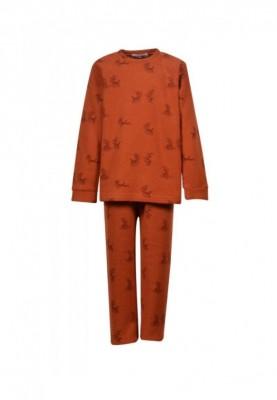Jongens pyjama roest met...