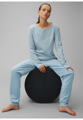 Dames pyjama blue grey...