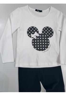 Meisjes pyjama Mickey wit...