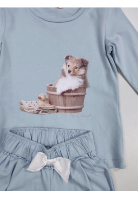 Meisjes pyjama Dog tub...