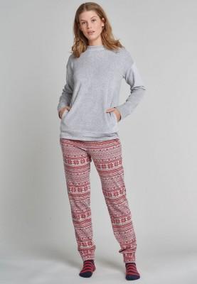 Dames kerst pyjama  sokken...