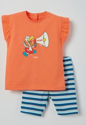 Meisjes pyjama koraalroze...
