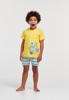 Jongens pyjama geel...