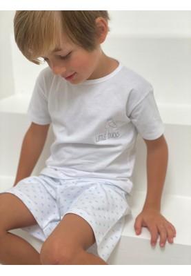 Kinder pyjama Wit bedrukt...