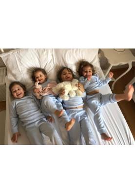 Kinder pyjama licht blauw...