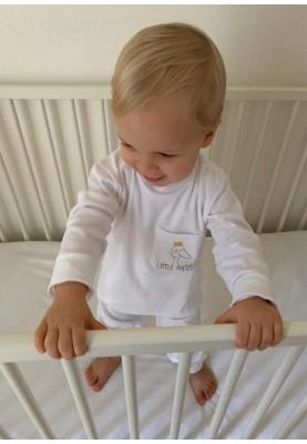 Kinder pyjama wit Lewis wit