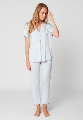 Dames pyjama bleute...