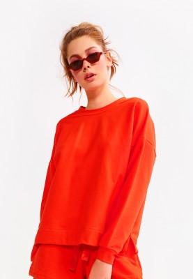 Dames sweater rood 2115LHGK433