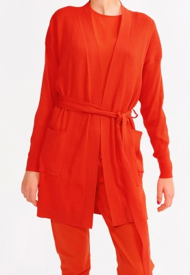 Dames gilet rood 2115LHMH433