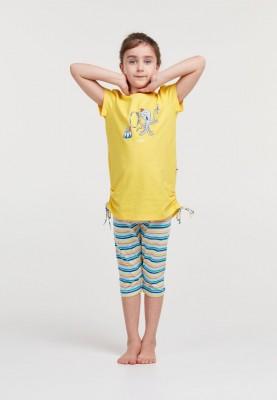 Meisjes pyjama geel...