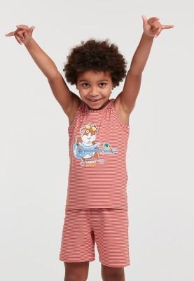 Jongens pyjama donkerrood...
