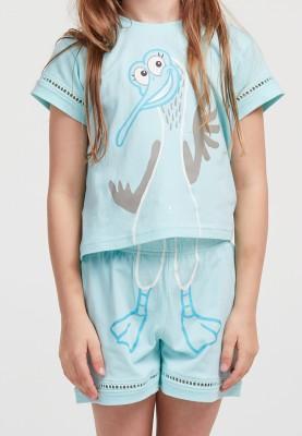 Dames pyjama lichtblauw...