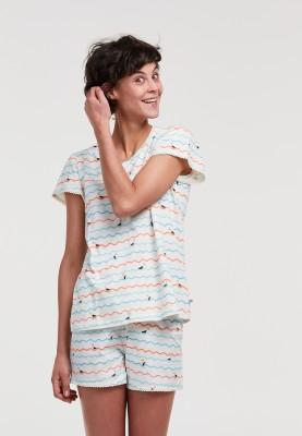 Dames pyjama meeuwen golven...