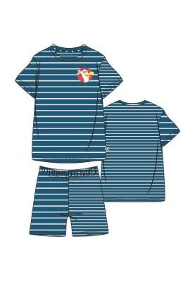 Heren pyjama blauw wit...