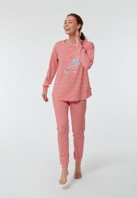 Dames pyjama roze gestreept...