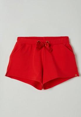 Dames korte broek rood...