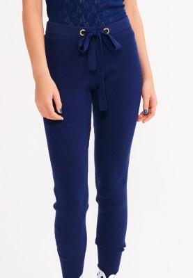Dames broek donkerblauw...
