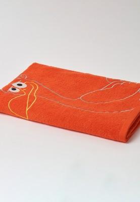 Handdoek 100x200cm rood...