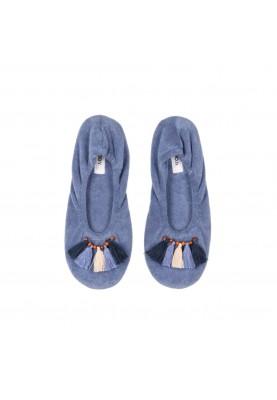 Pantoffels blauw 2111SLOT889