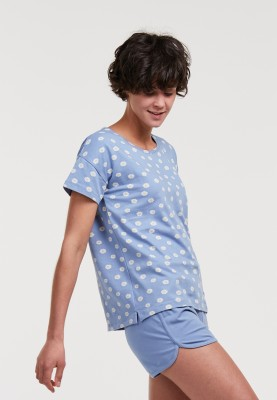 Dames pyjama madeliefjes...